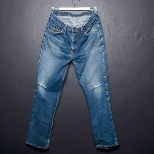 Vintage Orange Tab Levi's Boyfriend Jeans W34 L30